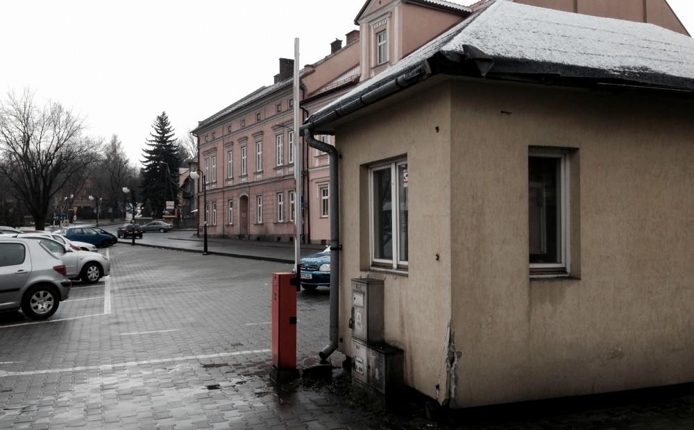 kiosk parkingowy