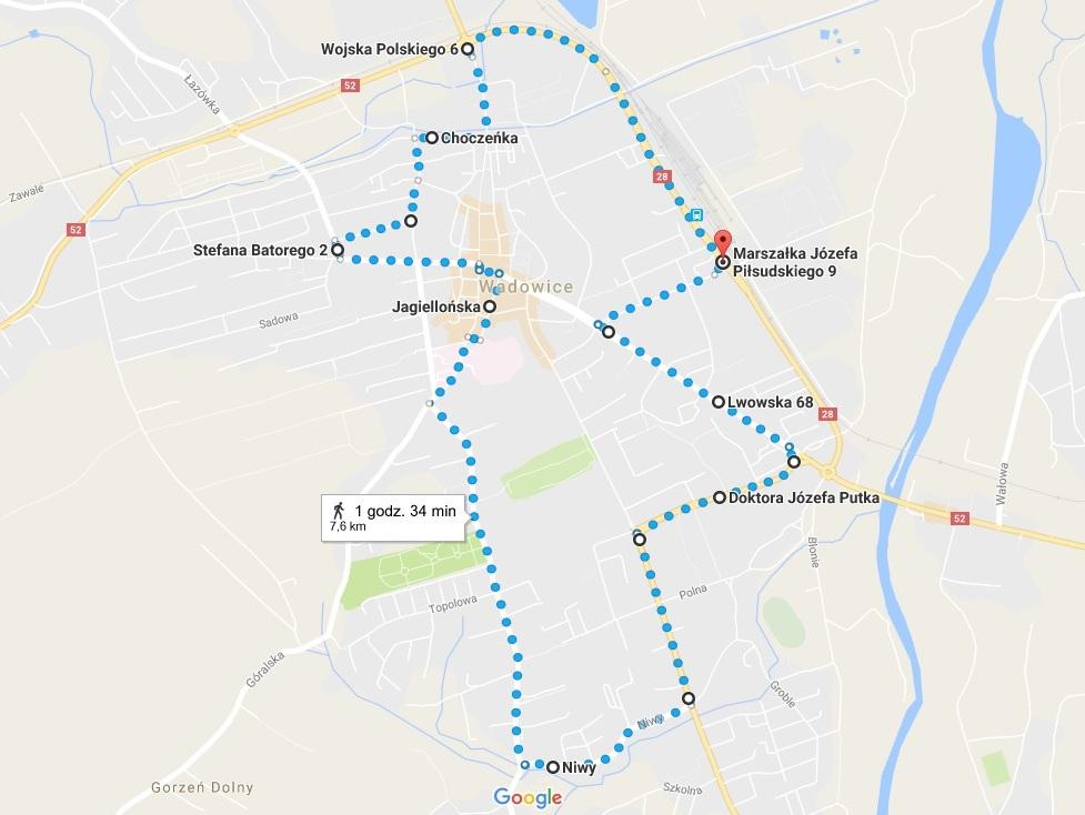 Trasa komunikacji miejskiej