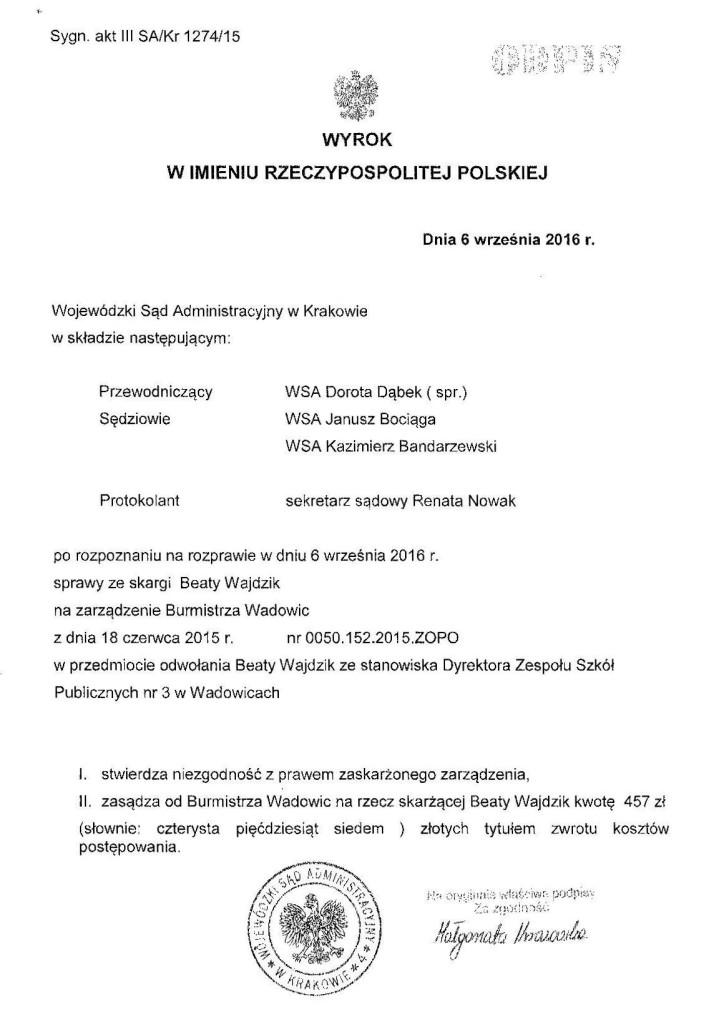 WSA Wajdzik