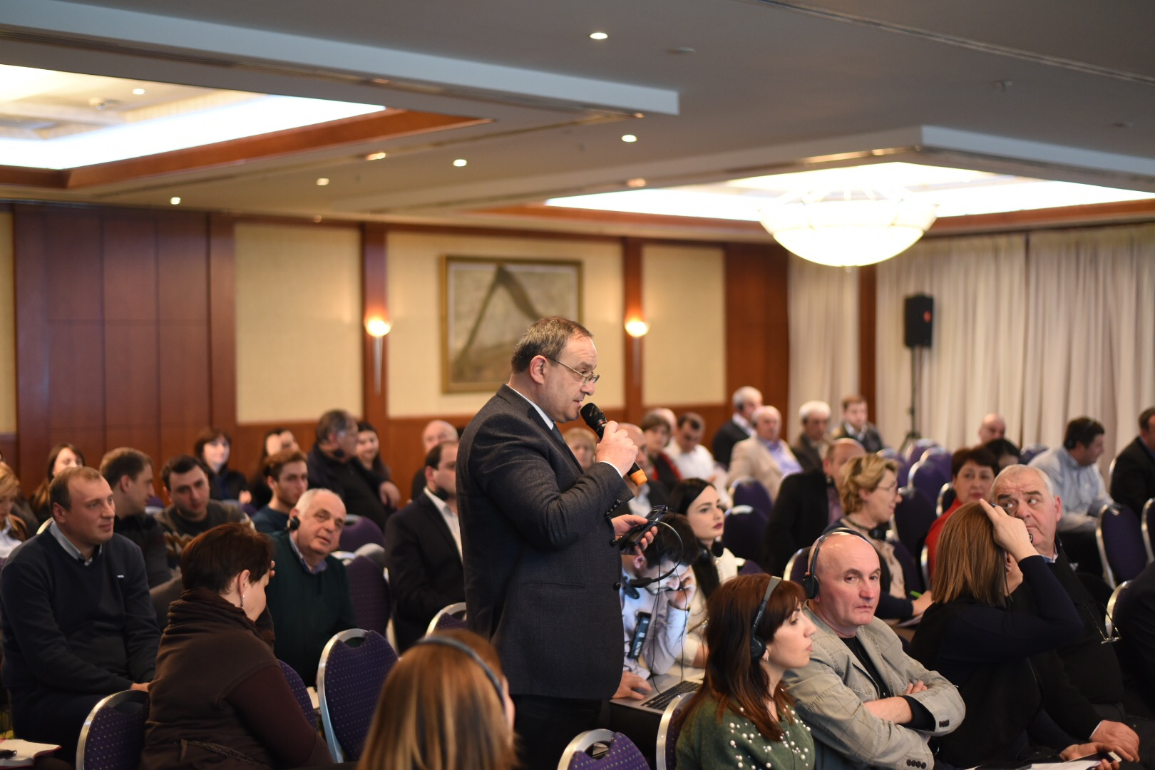 Spotkanie z Burmistrzem Wadowic samorządowców i polityków Gruzji.